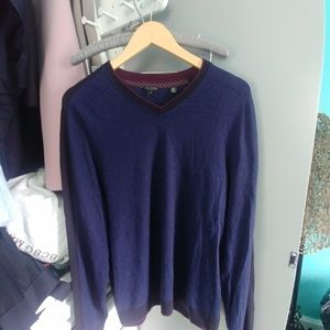 Ted Baker wool blend sweater XL in EUC